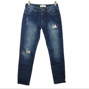 Cotton On Boyfriend Distressed Boyjean Jeans